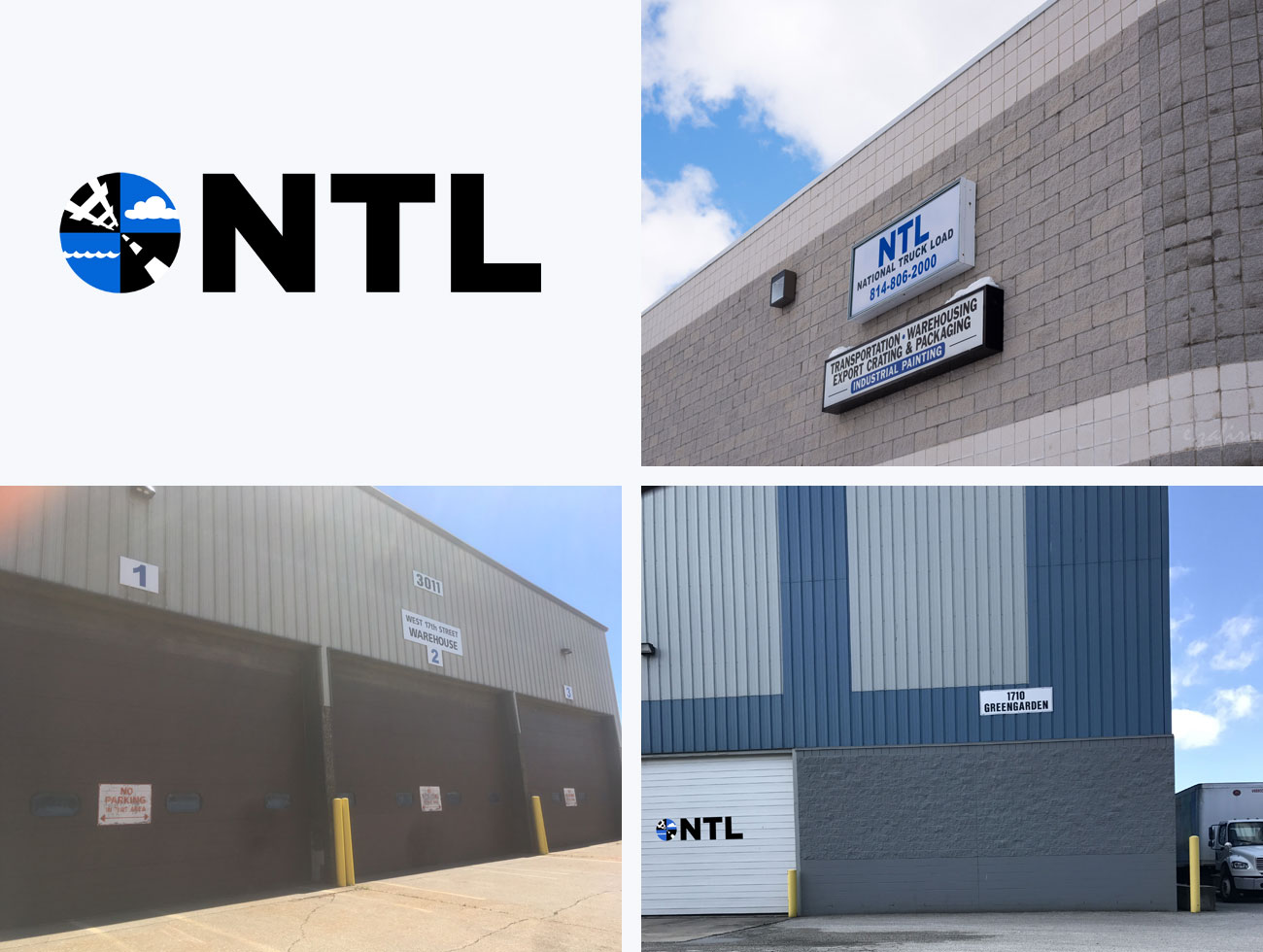 NTL Warehouse Locations